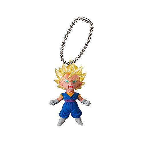 Bandai Gashapon Dragon Ball UDM V-Jump 06 Figure Swing Keychain~SS Vegeto (Dragon Ball Gashapon)