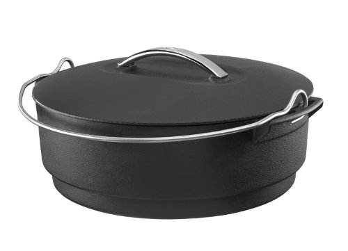 Stok SIS1020 Grills Cast Iron Kettle Insert for Grilling