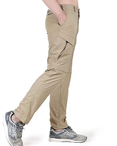 Et Séchage Kaki Rapide respirant imperméable À Homme Yiqi Pantalon Escalade X7vRxCn