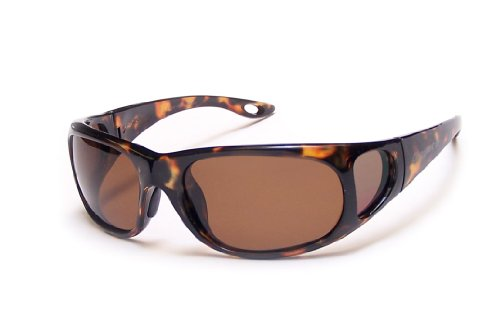 Coyote Eyewear P-22 Sportsman's P-Series Polarized Fishing Sunglasses, - Covered Side Sunglasses