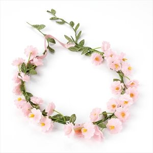 HA21355 Pink Flower Crown Headband Wedding Bridesmaid  Amazon.co.uk   Jewellery d070f6a53df