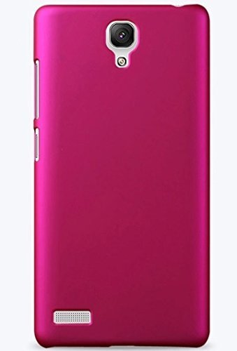 online store fdccf 189fa ImagineDesign Rubberised Matte Hard Case with Memory Card Reader for r  Xiaomi Mi Redmi Note / 4G / Prime (Pink)