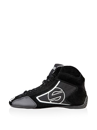 sneakers scarpe Sparco YAS-MID_NERO Nero Negro / Blanco