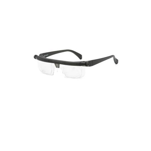 ADLENS USA Adjustables Black frame with clear lens Eyeglasses / EM02-BK /