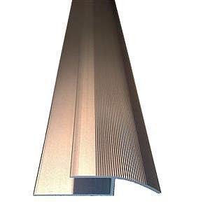 Laminate Flooring Curved Ramp Edge Aliminium Finish 8mm