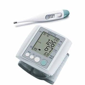 Sanitas Tensiómetro SBM 06 + Termómetro SFT 01/1: Amazon.es: Salud y cuidado personal