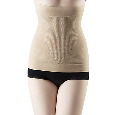 19a63cad43 Xiong Women Firm Waist Shaper Belt Waist Cincher Black Skin Slimming Belly  Tummy Waist Burning Fat Breathable Skin NY056  Amazon.co.uk  Kitchen   Home