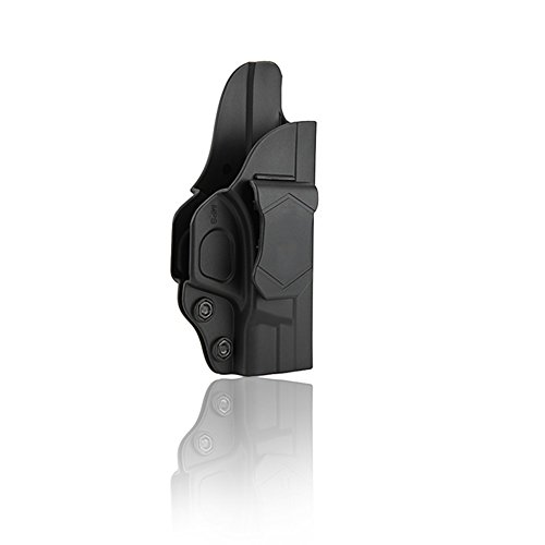 S&W M&P Shield 9mm/40 Holster - Custom Molded to Fit Smith and Wesson MP Shield 9mm .40 3.1 Inch Barrel