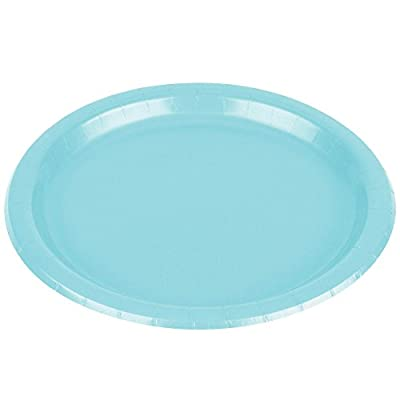 Frosty White Paper Plates, 20 Ct. | Party Tableware: Toys & Games