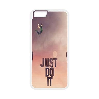 Nike Just Do It Jump Cliff Wallpaper IPhone 6 47 Inch Cell Phone Case White Toy