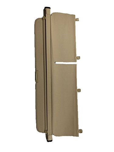 (Updated Version:Cargo Security Rear Trunk Cover Retractable for 10-15 Lexus Rx270 Rx350 Rx450H Cargo Cover Beige by Kaungka(There is no gap between the back seats and the trunk cover))
