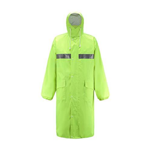 iYYVV Mens Waterproof Raincoat Pants Lightweight Casual Hooded Long Jacket