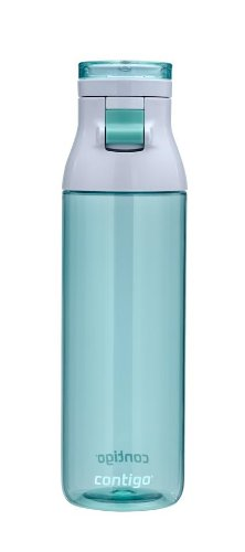 Split Lid - Contigo Jackson Reusable Water Bottle, 24oz, Grayed Jade