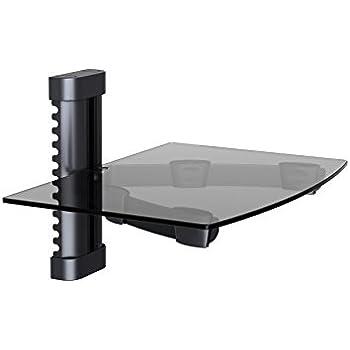 Amazon Com Nda Electronics Floating Tempered Glass Rack