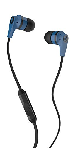 Skullcandy S2IKDY-101 In-Ear Headphone With Mic (Blue and Black)