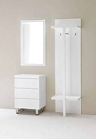 Garderobe Komplett Mit Spiegel Kommode Garderobenmobel Hochglanz