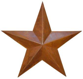 Dimensional Barn Star - Rusty - 36 Inch 36in Star