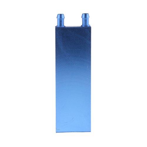 Baosity DIY Aluminum Water Cooling Block for CPU Graphics Radiator Heatsink 40x120mm (Aluminum Head Heatsink Cooling)