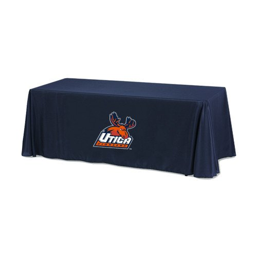 Utica Navy 6 foot Table Throw 'Official Logo' by CollegeFanGear