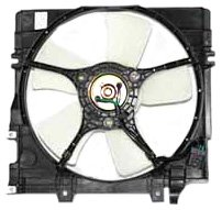 TYC 600350 Subaru Legacy Replacement Radiator Cooling Fan Assembly