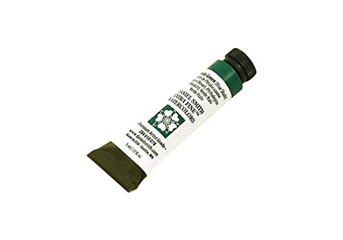 Daniel Smith 284610078 Extra Fine Watercolors Tube, 5ml, Phthalo Green (Blue (Transparent Phthalo Green)