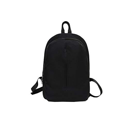 Rainie002 2019 Women Backpack Bag Fashion Solid Color Zipper School Bag For Girls Female Backpack Lady Shoulder Bag S,A Black,42X30X14 Cm (Best Golf Swing Training Aids 2019)