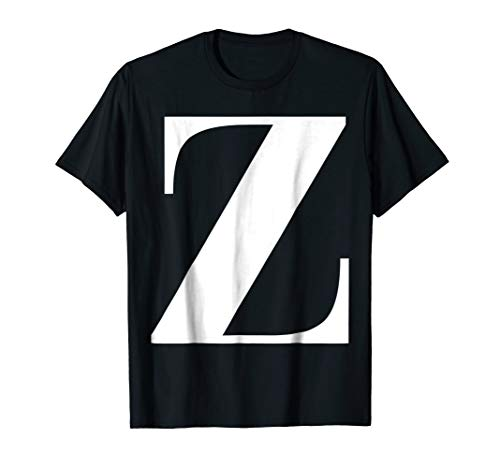 - Letter Z T-shirt - Alphabet Tees