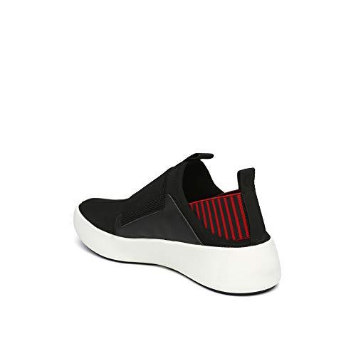 Baskets Nude rouge Noir United Femme Pour q0xB1