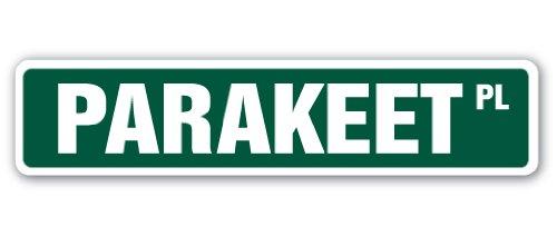 Parakeet Street [3 Pack] of Vinyl Decal Stickers | 1.5