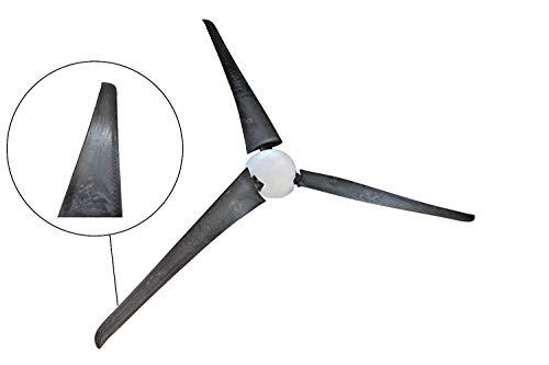 Set Ø 1,00m IstaBreeze Carbon Repeller, High Speed, Wind Generator, Wind Turbine (Set Ø 1,00m Carbon Repeller)