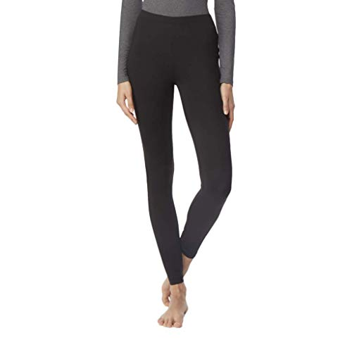 32 Degrees Heat Weatherproof Womens Base Layer Thermal Leggings Black, Small