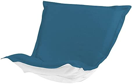 Howard Elliott QC300-298 Puff Patio Chair Cover, Seascape Turquoise