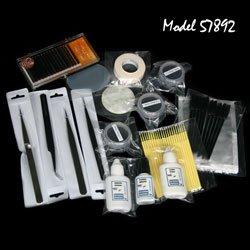 Eyelash Extensions Beginner Kit/Starter Individual Semi Permanent Lash Extensions Kit/Full Professional Fake Ey by Ei