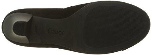 Gabor Shoes Gabor Basic, Zapatos de Tacón para Mujer Negro (Schwarz 17)