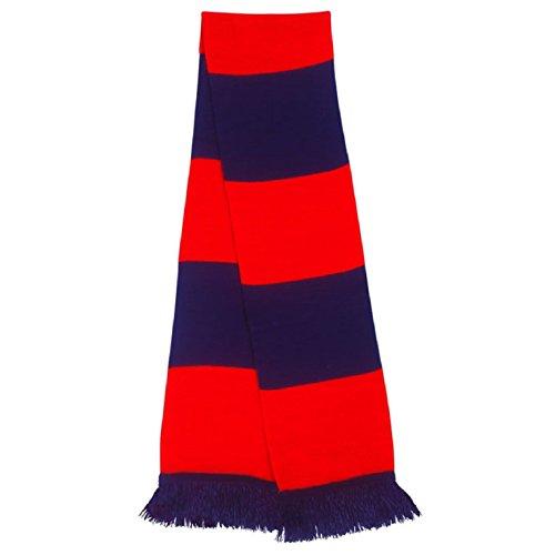 traditionell-marine-und-rot-schal-retro-bar-in-kent-kricket-team-farben
