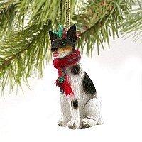 Rat Terrier Miniature Dog - Rat Figurine Terrier