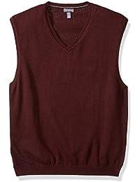 Men's Solid Jersey Sweater Vest