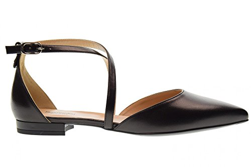 Nero Giardini Frau Geschnürte Schuhe Tänzer P805540DE/100 Black