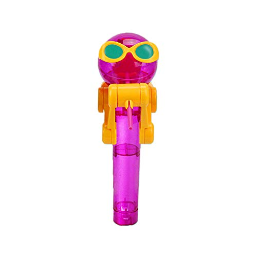 Sugar Water Purple Shirt - ❤️MChoice❤️Creative Lollipops Artifact Funny Eating Lollipop Robot Holder Stand Gifts Toy (Purple)