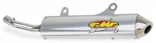 FMF TurbineCore 2 Slip On Exhaust With Spark Arrestor 021012