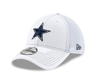 Dallas Cowboys New Era White Team Neo 39Thirty Cap