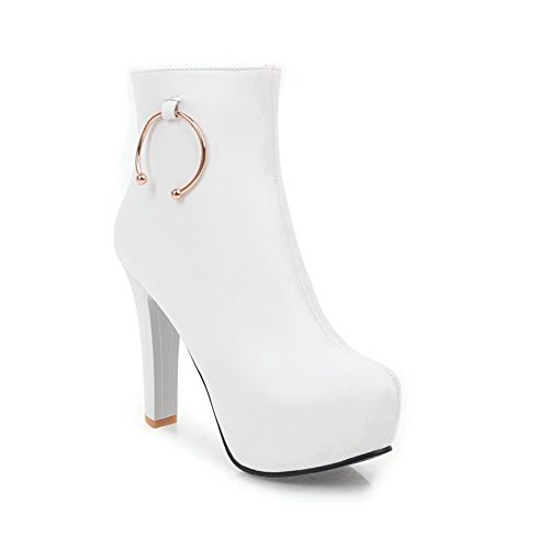 Balamasaabl10255 - Col Bas Pour Femme, Blanc (blanc), 35