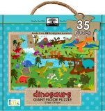 Green Start Giant Floor Puzzle: Dinosaurs, , 1601692153
