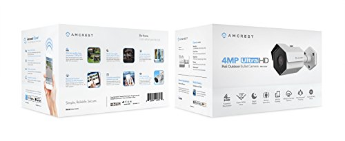 Amcrest ProHD Outdoor 4 Megapixel POE Bullet IP Security Camera - IP67 Weatherproof, 4MP (2688 TVL), IP4M-1026E (White) by Amcrest (Image #2)
