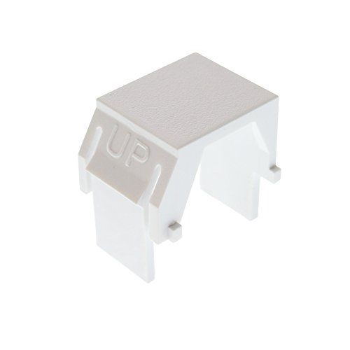 (Legrand - On-Q WP3455WH Blank Keystone Insert, White)