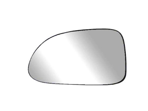 Fit System 88017 Driver Side Non-heated Replacement Mirror Glass with Backing Plate ()