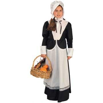 Pilgrim Girl Kids Costume
