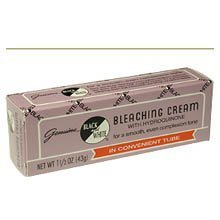 affordable Black  White Bleaching Cream Tube 0.75 oz