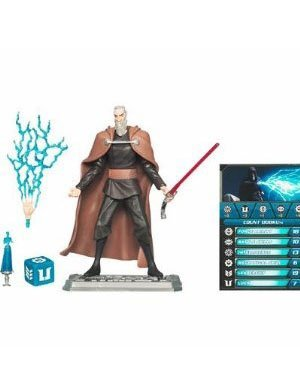"Star Wars The Clone Wars Animated 3 3/4"" Count Dooku Action Figure"