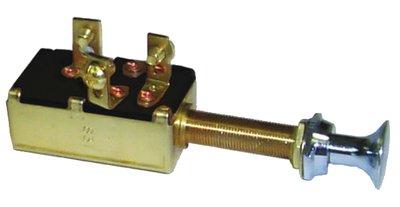 Sierra International MP39640 Heavy Duty Marine Push Pull Off-On (1) On (2) SPDT Switch by Sierra International